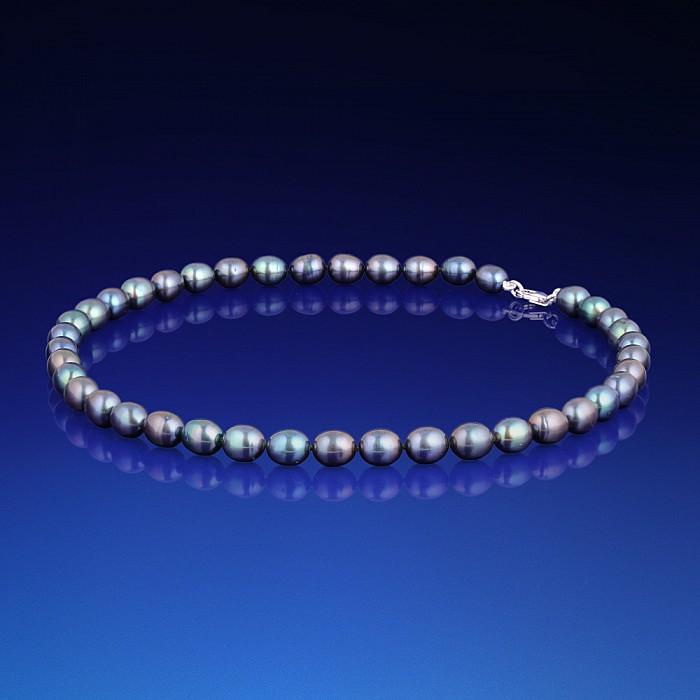 Perlový náhrdelník Martha černý cf36b16b0fb